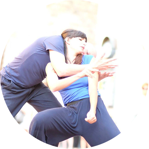Contact improvisation Intensive Lab: presence through touch